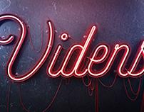 VIDENS Neon Logo