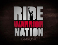 "Cedar Fair ""Ride Warrior Nation"" web video"