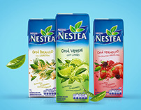 Nestea Packaging Brazil