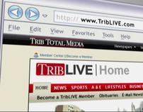 "Trib Total Media ""Trib Store"" TV"