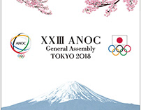 Main Visual of Tokyo Olympic ANOC General meeting