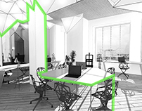Co-working office interior proposal
