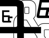 """Typeface """"Weird"""""""