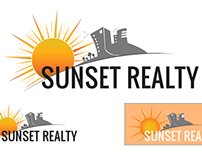 Logo - Sunset Realty.
