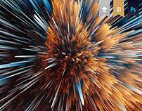 Particle Explosions (Adobe Photoshop CC 2018 Website)