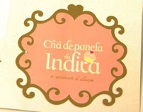 Convite Chá de Panela O amor é doce
