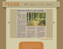 Decor a la Carte Website