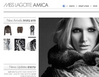 Web Design: Miss Lagotte (Oui & Set), Fashion