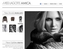 Web Design: Miss Lagotte (Oui & Set), Fashion
