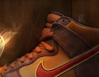 Nike Cigar SB Dunk Microsite //