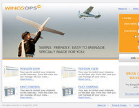 Web Application: WingsOps