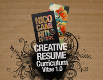 Creative Resume 1.0 / 2010