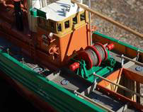 Lydia Eva model steam drifter model