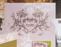 Marcus Notley Packaging Design for Versailles Crystal