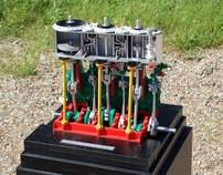 Steam Engine model
