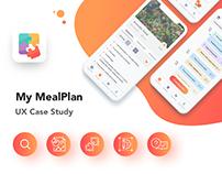 My MealPlan - App UX Case Study