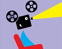 cartaz para 24a mostra de cinema de são paulo