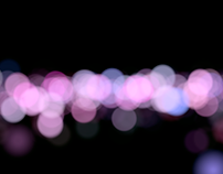 Bokeh Night 1 - Seamless Loop / HD,4K