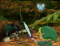 LINK'S FOREST DUNGEON