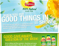 100% Naturals Good Giveaways