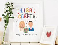 Lisa and Gareth Anniversary