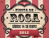 Gente . Fiesta de Rosa (circus)