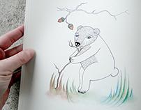 Forest book / illustration