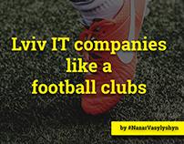 Lviv IT Companies like a football clubs