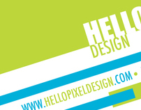 Hello Pixel Design - Branding Project