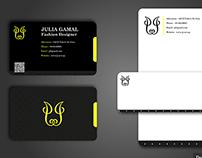 Business Card & Letterhead Template