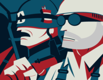 Team Fortress 2 Designs & Illustrations