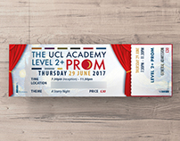 The UCL Academy – Prom Ticket