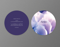 Brand Identity, Aimée Jewellery