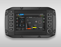 HMI Display - Mobile Rock Crusher