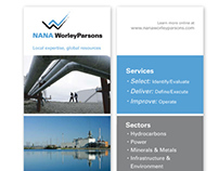 NANA WorleyParsons Ads & Tradeshow Display