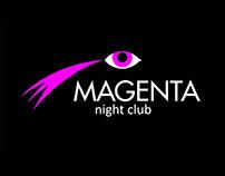 MAGENTA. Логотип ночного клуба гостиницы RAMADA
