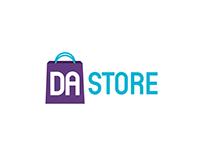 Dundee & Angus College: DA Store Logo Design