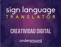 APP - Sign Language Translator