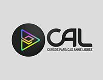 CAL - Cursos para DJs Anne Louise | Logotipo 2018