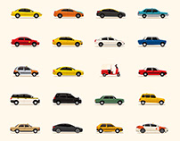 Taxicabs of the World