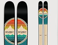 First Descents Ski Graphic