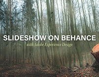 Slideshow on Behance