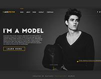 I'm a Model - Portfolio Project