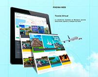 Mundo Travel - Pagina Web