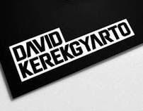 David Kerekgyarto Branding