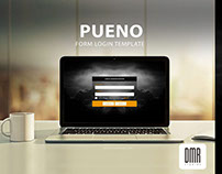 PUENO LOGIN FORM