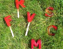 Ice Lolly Typography