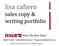 Sales & Copywriting Portfolio