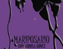 Libro de poesía Mariposario