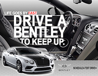 Car Advertisement Web Banner